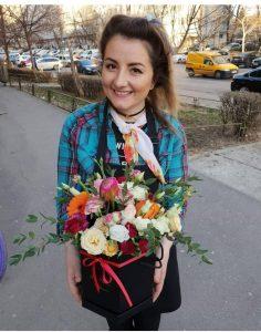 emotii parfumate - flori, antreprenor