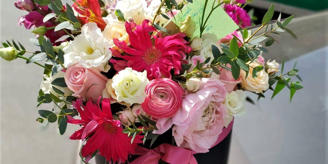 aranjament floral - emotii parfumate