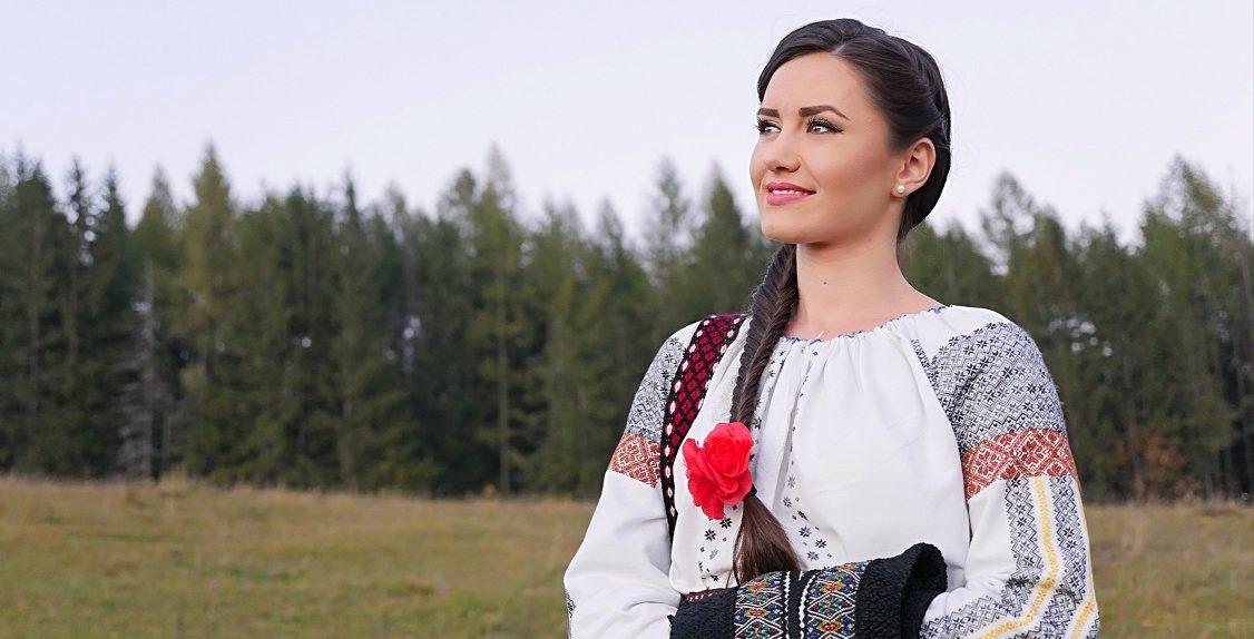 Sanziana Stefan interpret bucovinean muzica populara - interviu