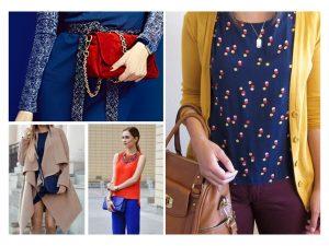 albastrul clasic in moda - culoarea anului 2020
